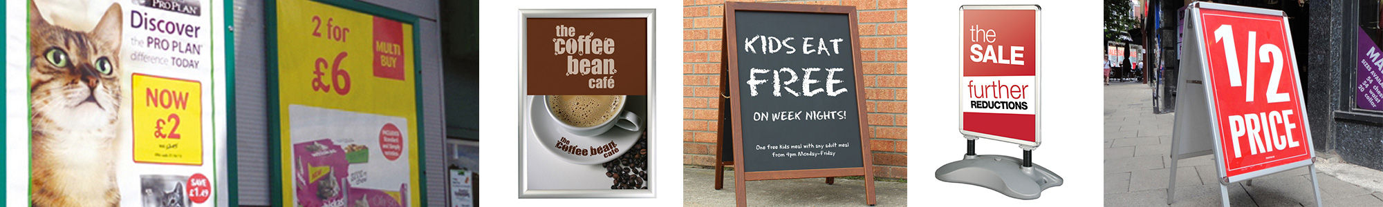 Total Signs and Graphics - Pavement Signs & Poster Holders